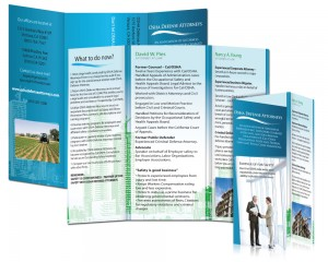 OSHA Defense Attorneys Brochure