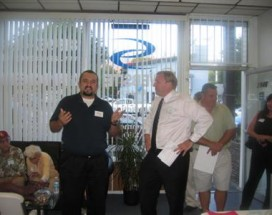 August CV Chamber Mixer Hosted By Caspian Services, Inc.