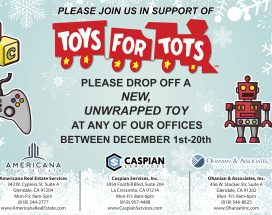 Toys For Tots 2017 Holiday Season