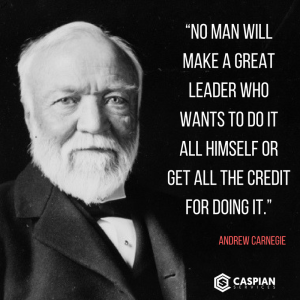 10 Inspirational Business Quotes from Self Made Millionaires - Quote Andrew Carnegie