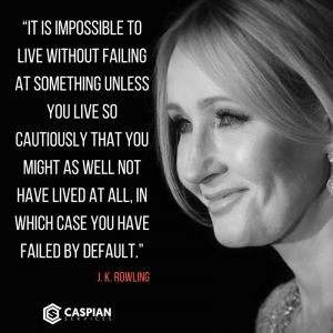 10 Inspirational Business Quotes from Self Made Millionaires - Quote J. K. Rowling